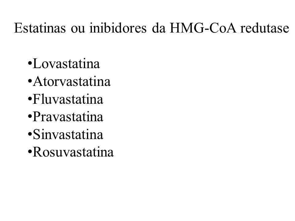 Estatinas ou inibidores da HMG-CoA redutase