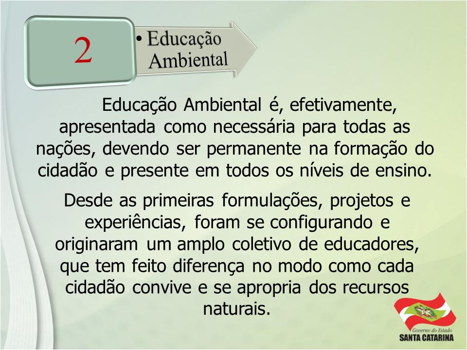 2 Educação Ambiental.