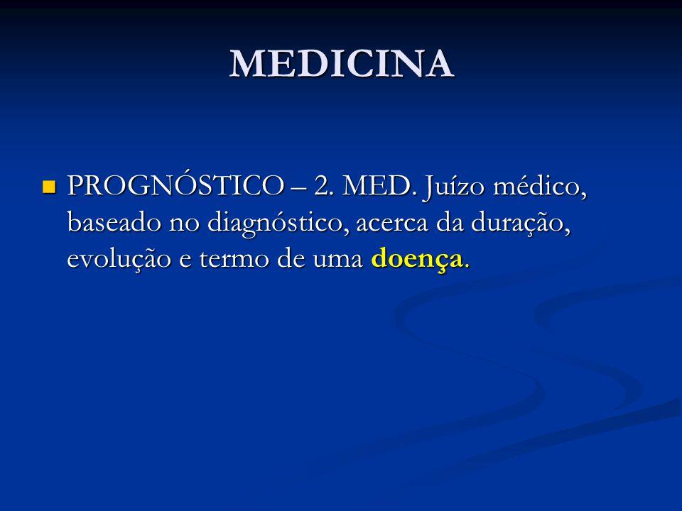 MEDICINA PROGNÓSTICO – 2. MED.