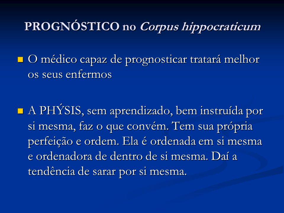 PROGNÓSTICO no Corpus hippocraticum