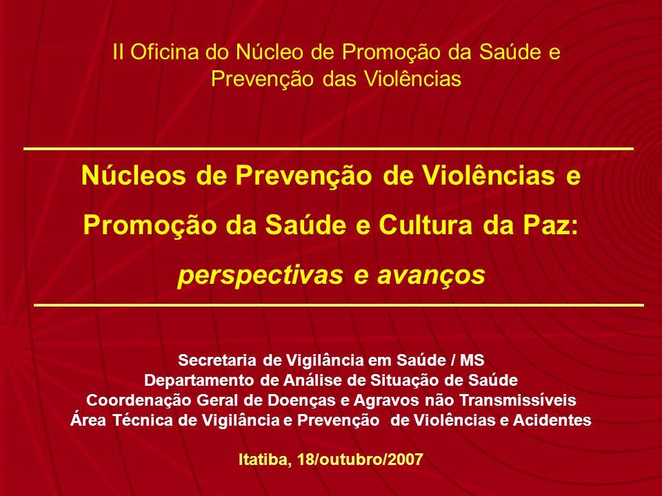 Núcleos de Prevenção de Violências e