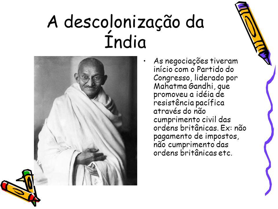 A descolonização da Índia