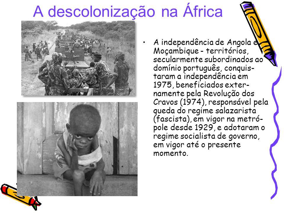 A descolonização na África