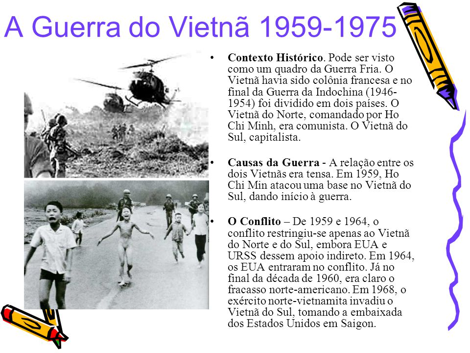 A Guerra do Vietnã 1959-1975