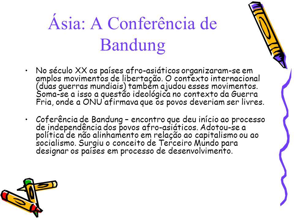 Ásia: A Conferência de Bandung