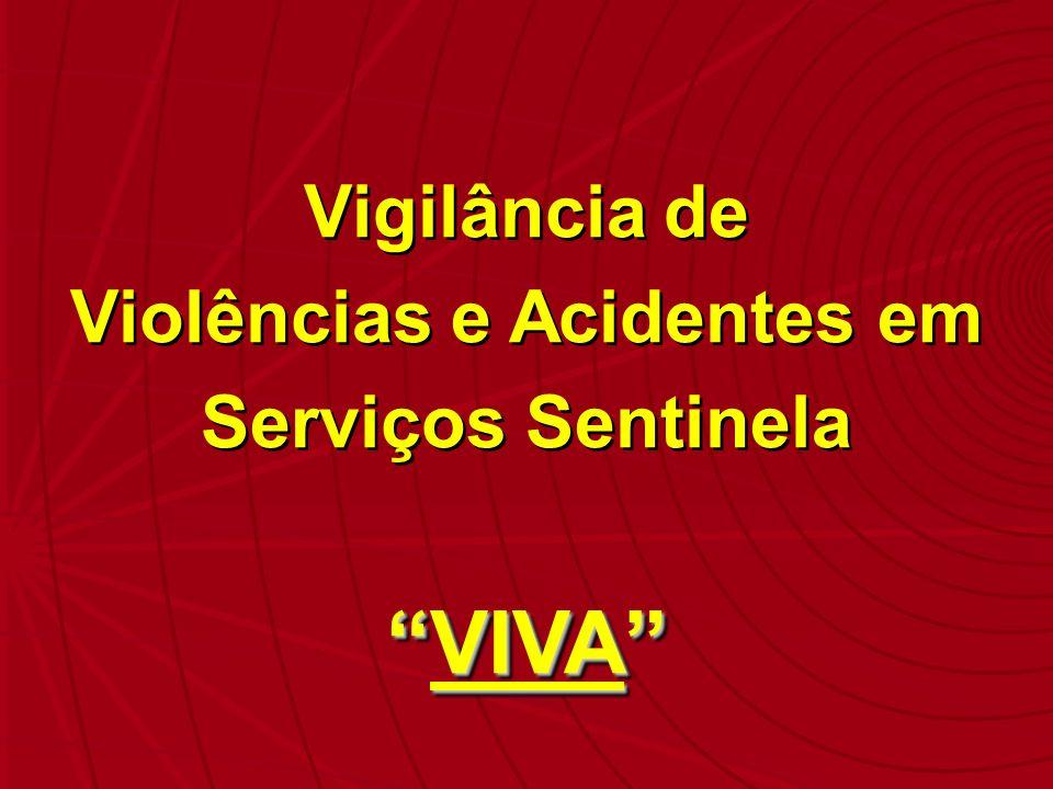 Violências e Acidentes em Serviços Sentinela