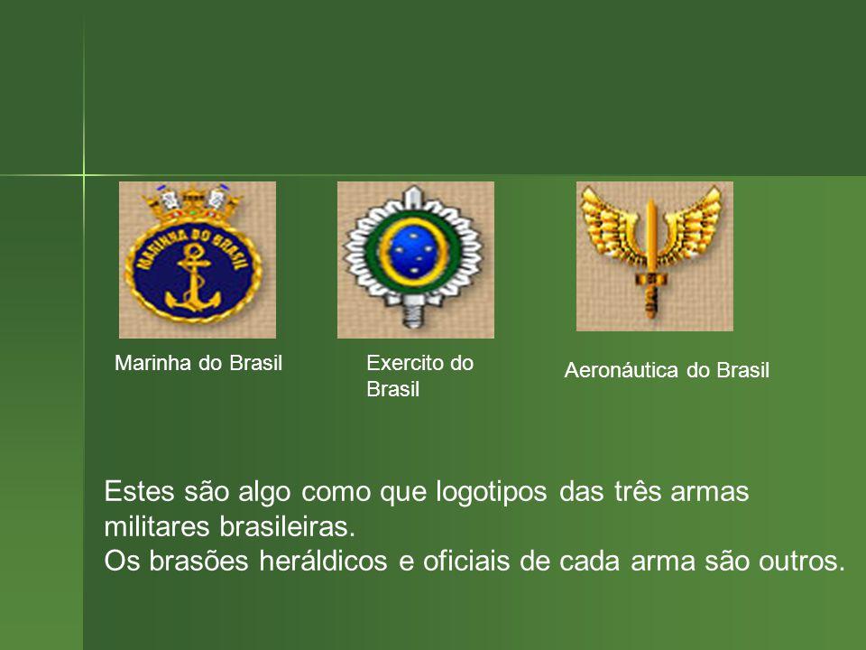 Marinha do Brasil Exercito do Brasil. Aeronáutica do Brasil.