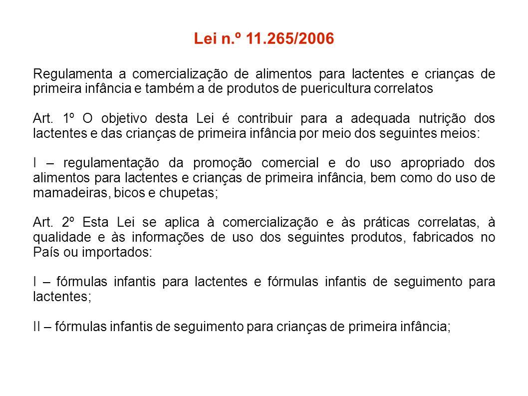 Lei n.º 11.265/2006