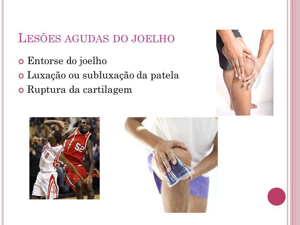 Lesões agudas do joelho