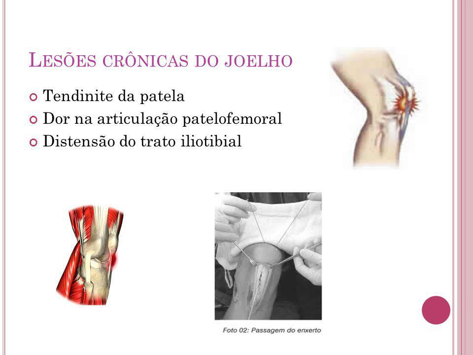 Lesões crônicas do joelho