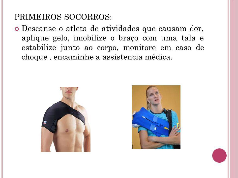 PRIMEIROS SOCORROS: