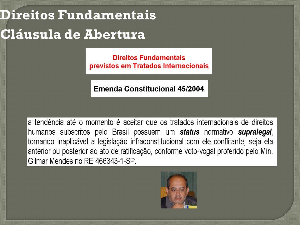 Direitos Fundamentais Cláusula de Abertura