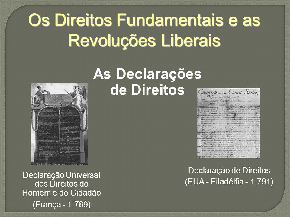 As Declarações de Direitos