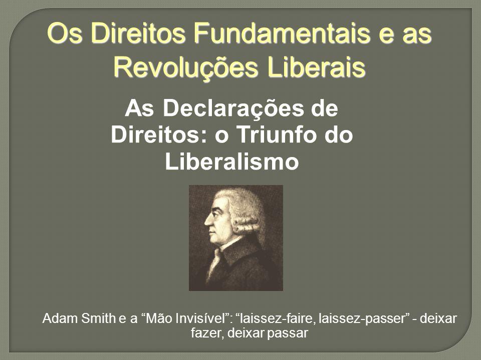 As Declarações de Direitos: o Triunfo do Liberalismo