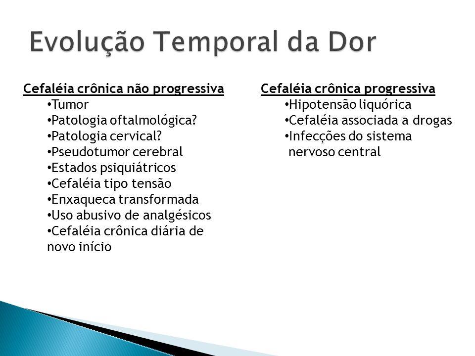 Evolução Temporal da Dor