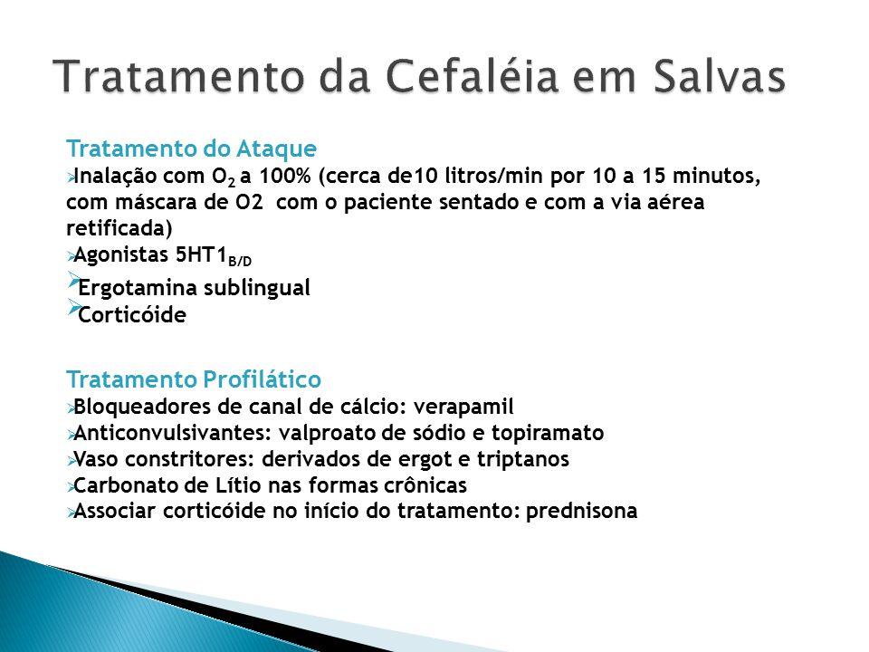 Tratamento da Cefaléia em Salvas