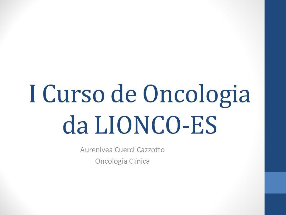 I Curso de Oncologia da LIONCO-ES