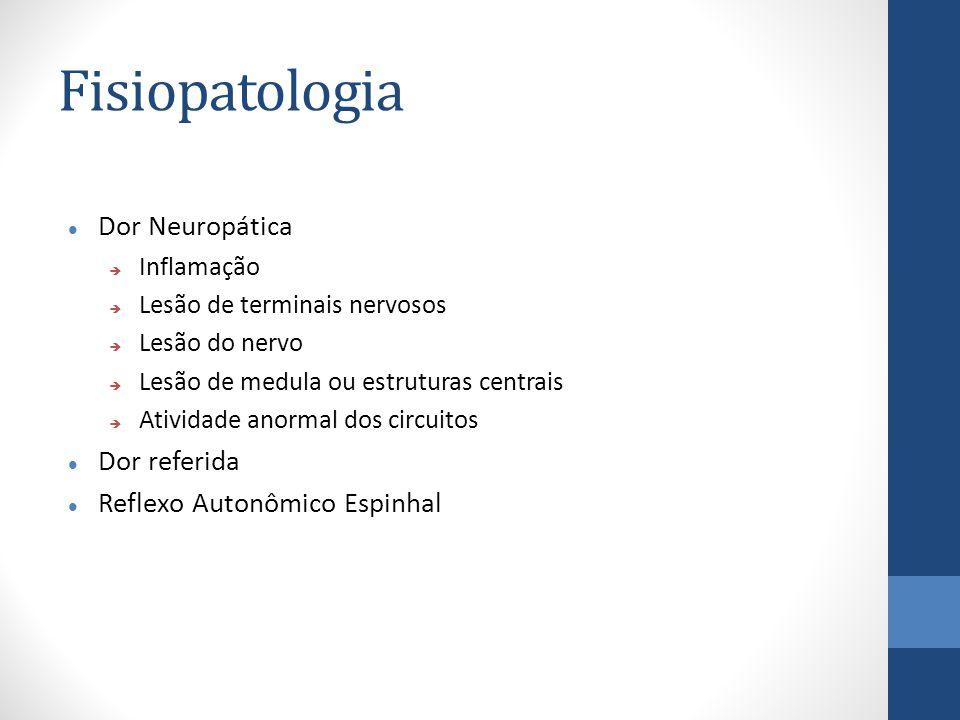 Fisiopatologia Dor Neuropática Dor referida