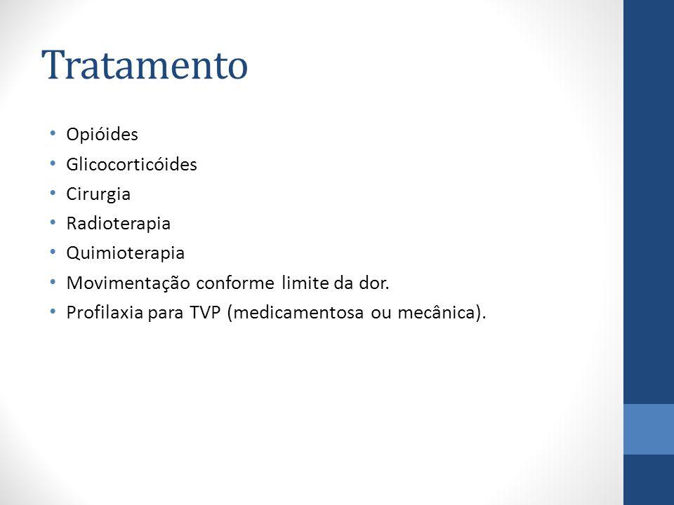 Tratamento Opióides Glicocorticóides Cirurgia Radioterapia