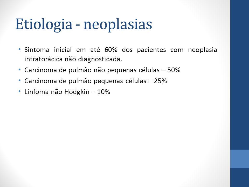 Etiologia - neoplasias