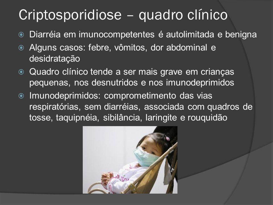 Criptosporidiose – quadro clínico
