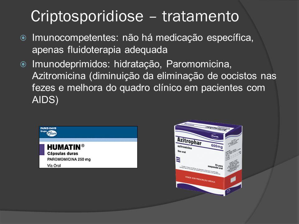 Criptosporidiose – tratamento