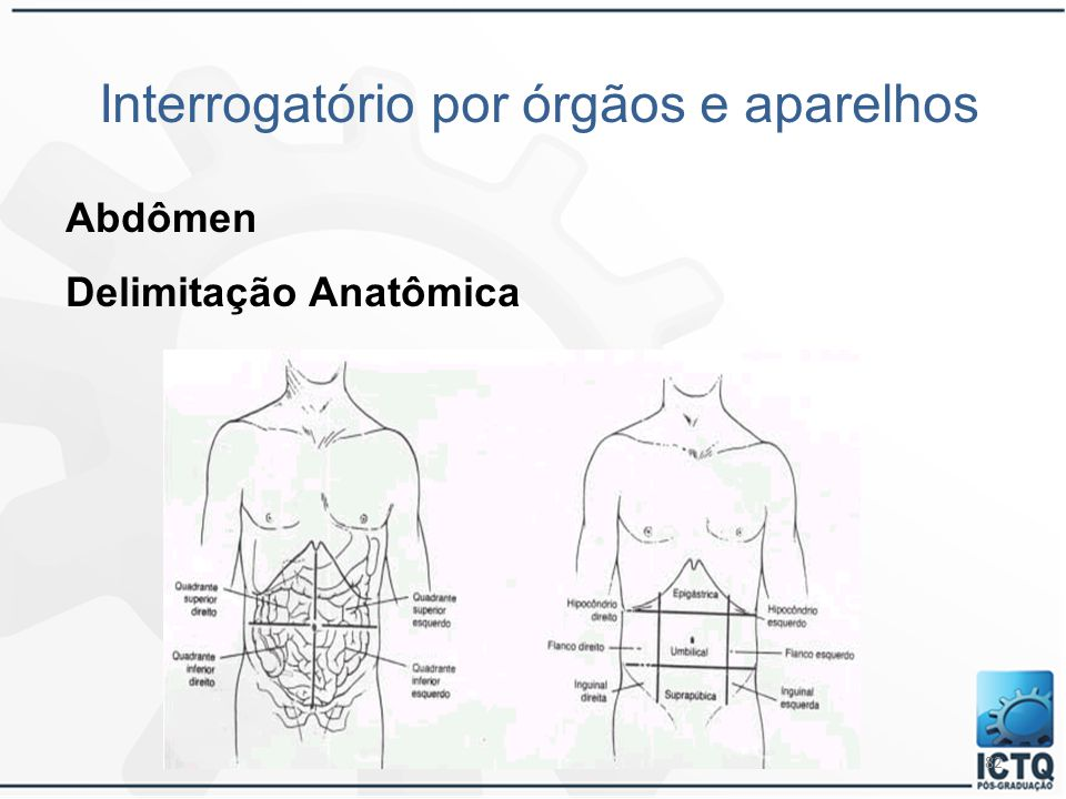 Interrogatório por órgãos e aparelhos