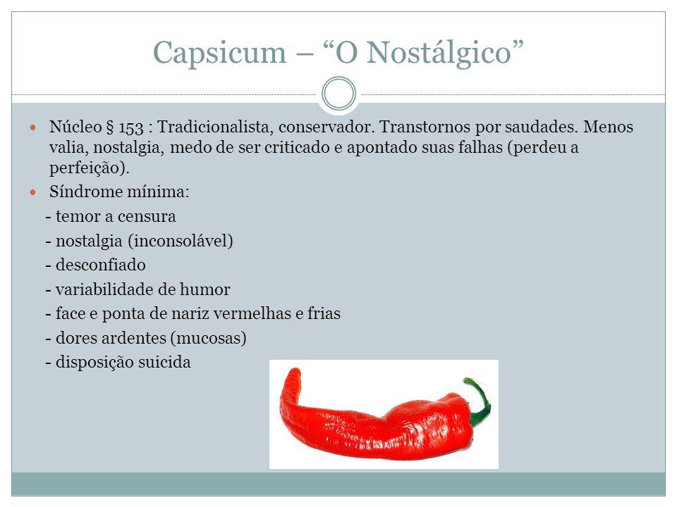 Capsicum – O Nostálgico