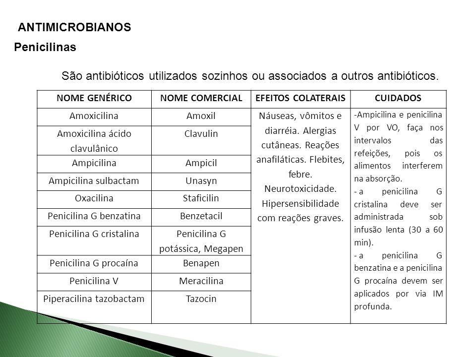 ANTIMICROBIANOS Penicilinas
