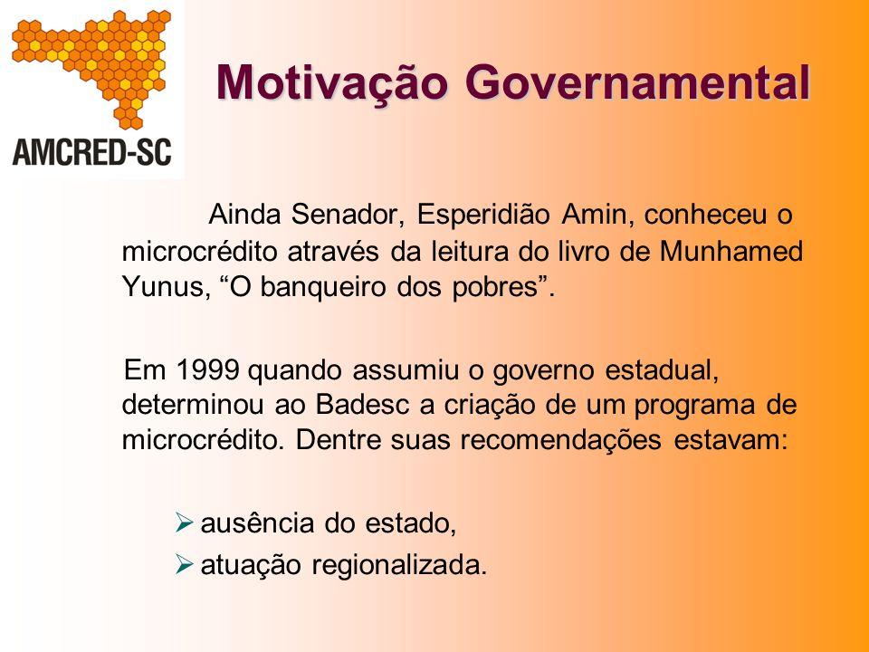 Motivação Governamental