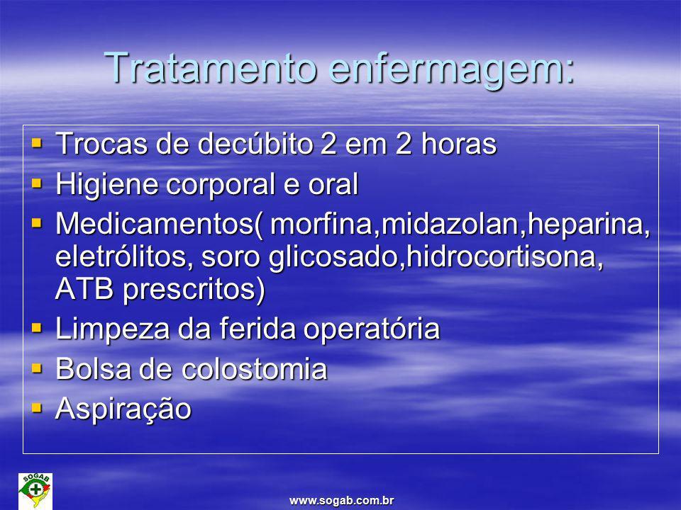 Tratamento enfermagem: