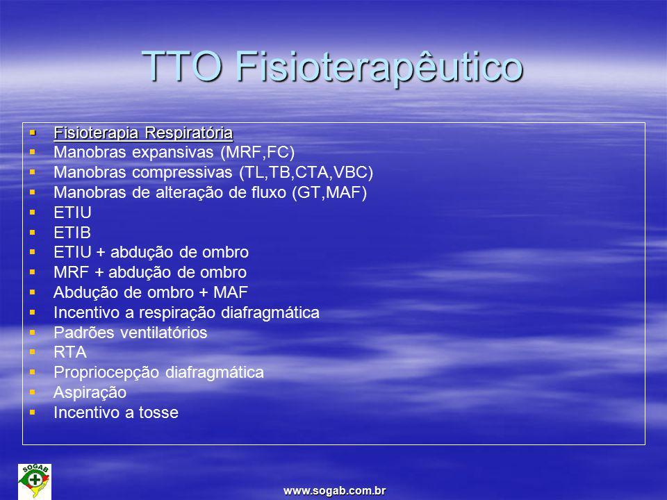 TTO Fisioterapêutico Fisioterapia Respiratória