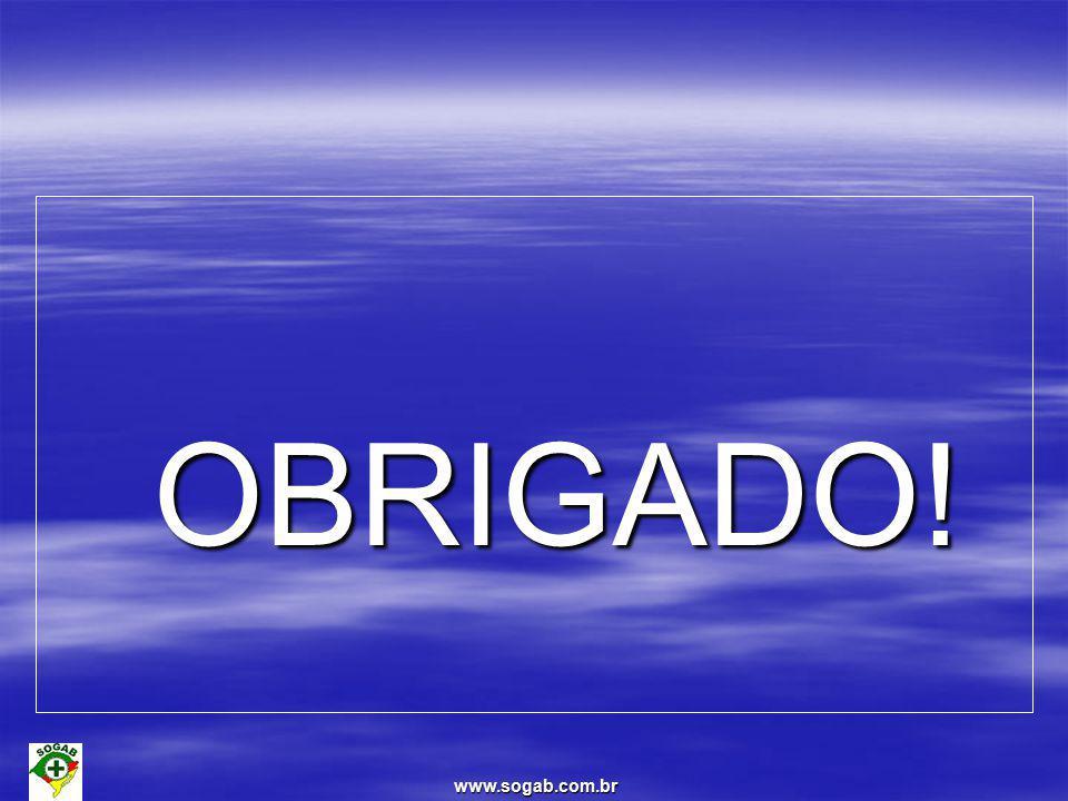 OBRIGADO! www.sogab.com.br