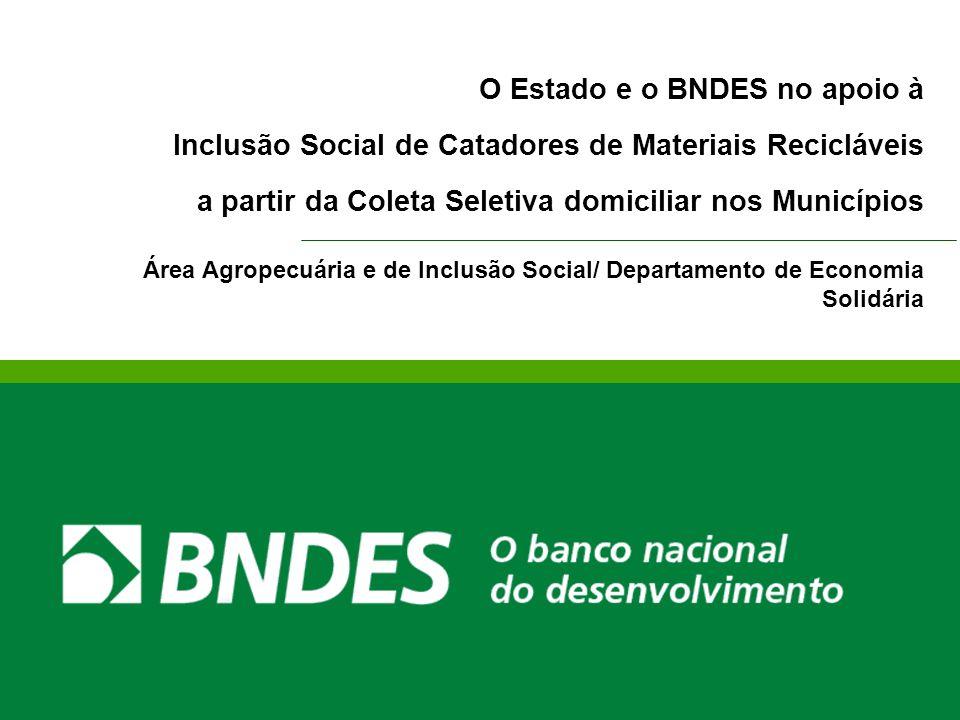 O Estado e o BNDES no apoio à