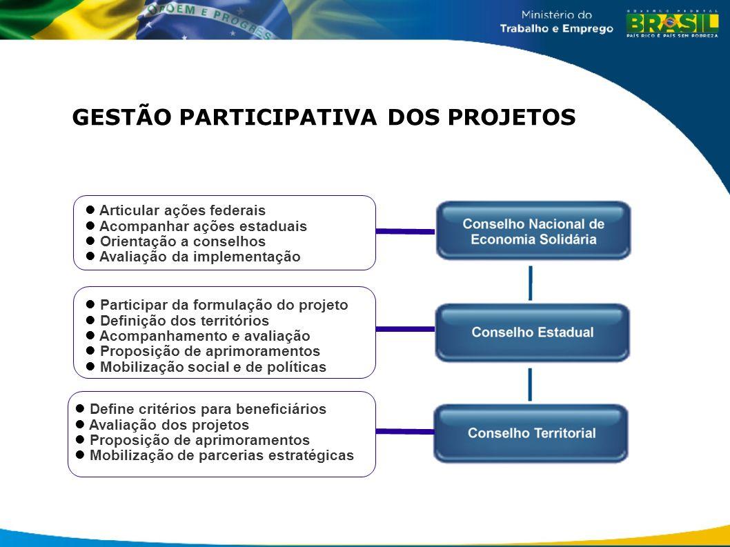 GESTÃO PARTICIPATIVA DOS PROJETOS