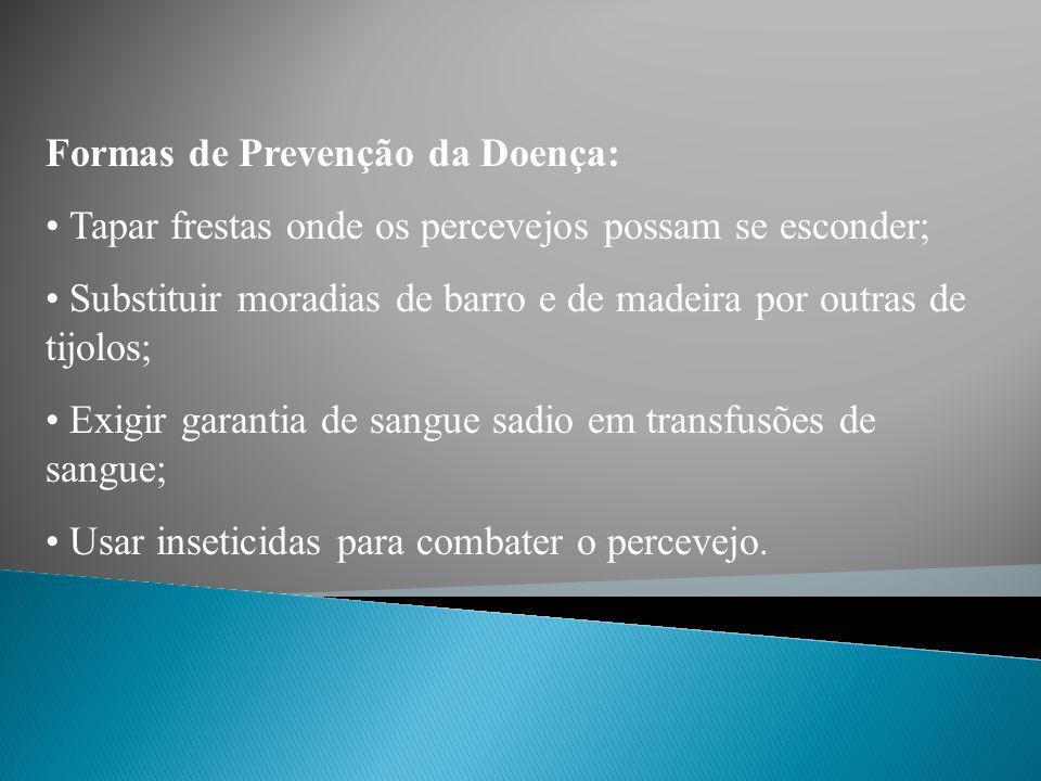 Formas de Prevenção da Doença: