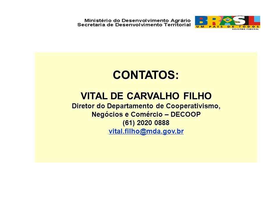 CONTATOS: VITAL DE CARVALHO FILHO