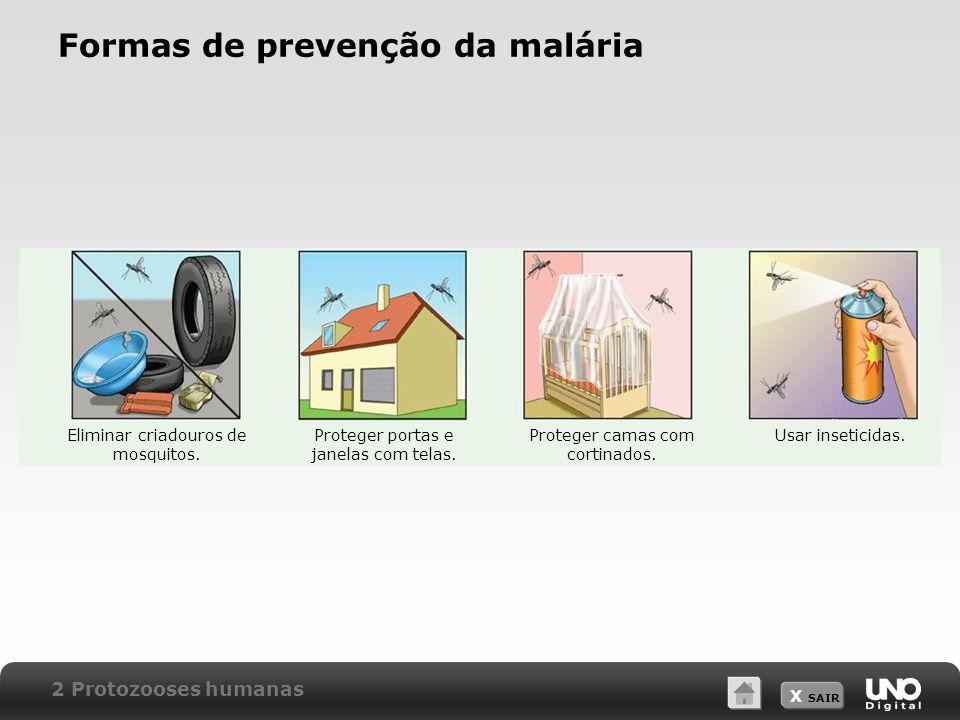 Formas de prevenção da malária