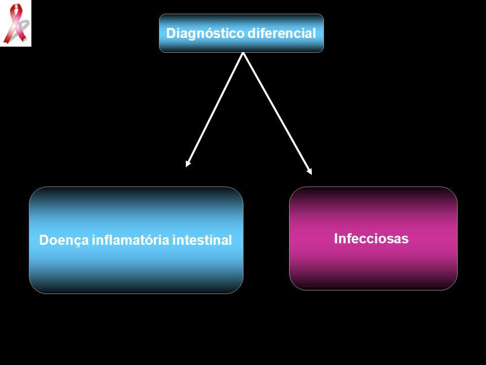 Diagnóstico diferencial Doença inflamatória intestinal
