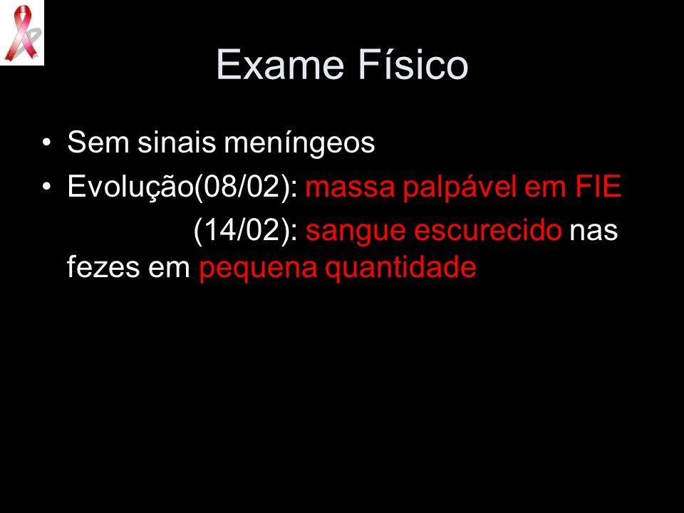 Exame Físico Sem sinais meníngeos