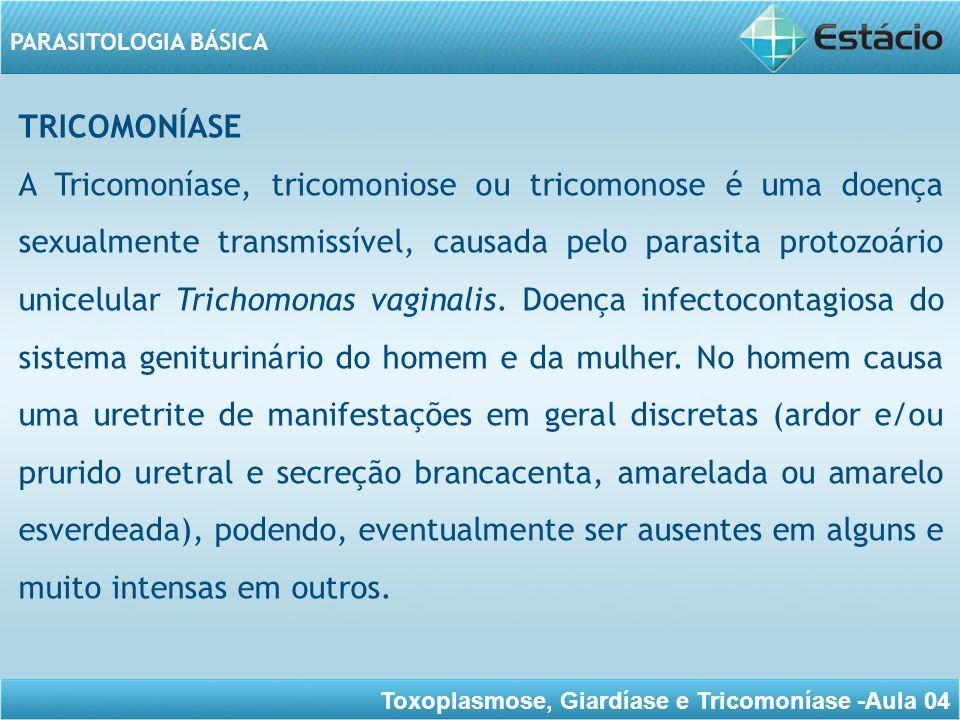 TRICOMONÍASE