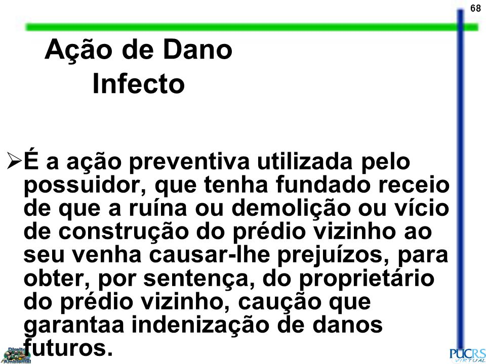Ação de Dano Infecto