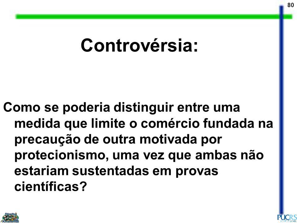 Controvérsia: