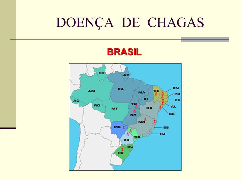 DOENÇA DE CHAGAS BRASIL