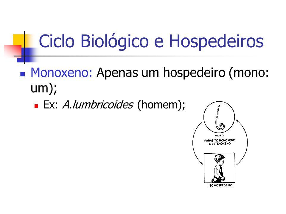 Ciclo Biológico e Hospedeiros
