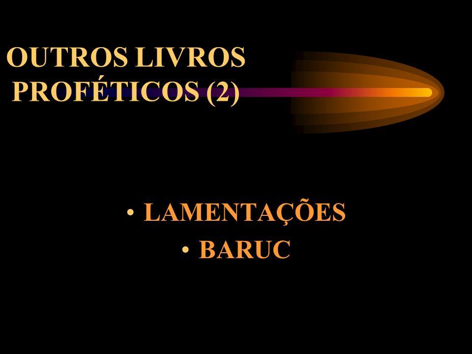 OUTROS LIVROS PROFÉTICOS (2)