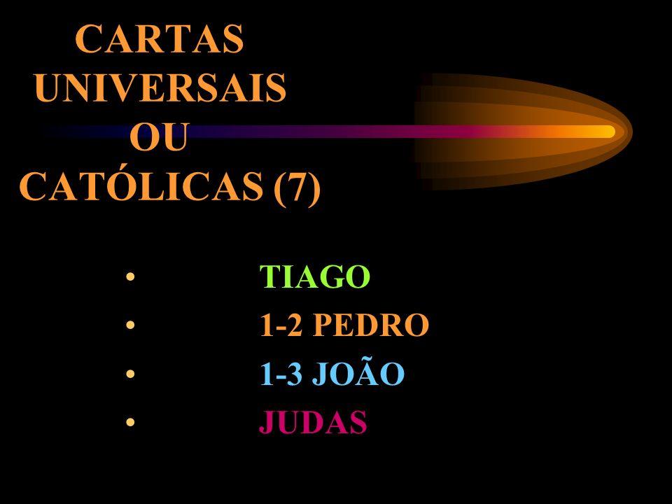 CARTAS UNIVERSAIS OU CATÓLICAS (7)