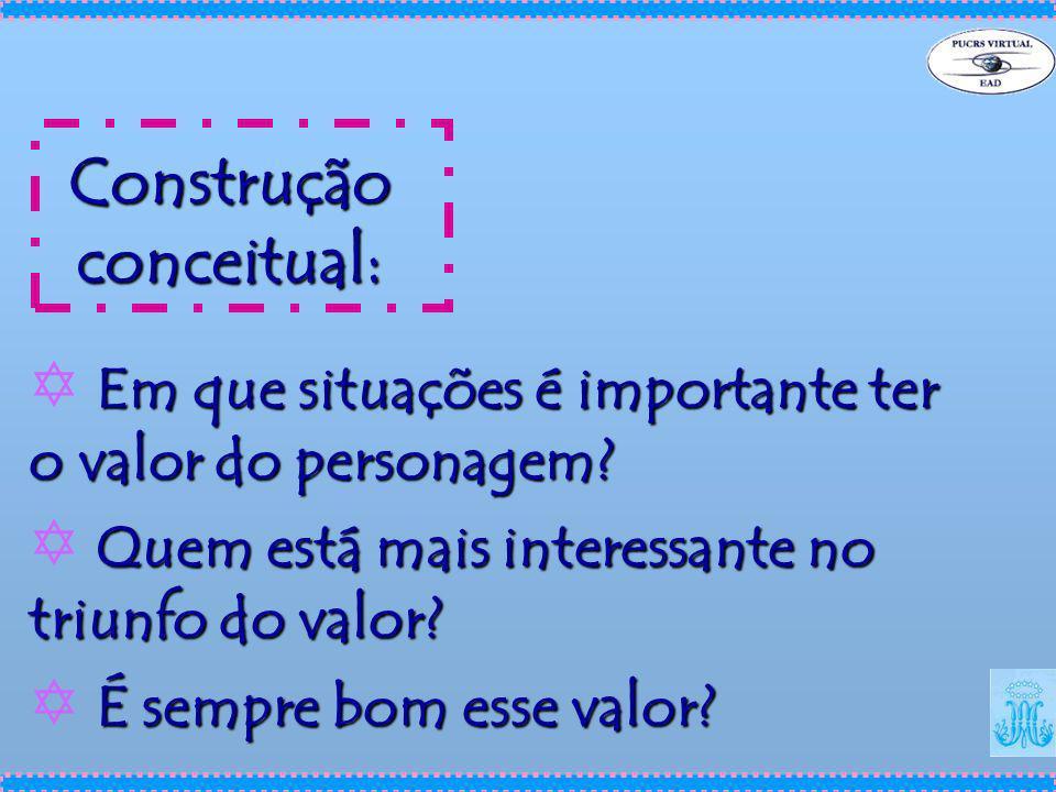 Construção conceitual: