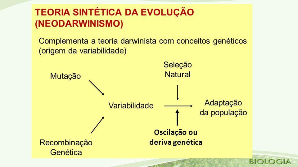 Oscilação ou deriva genética