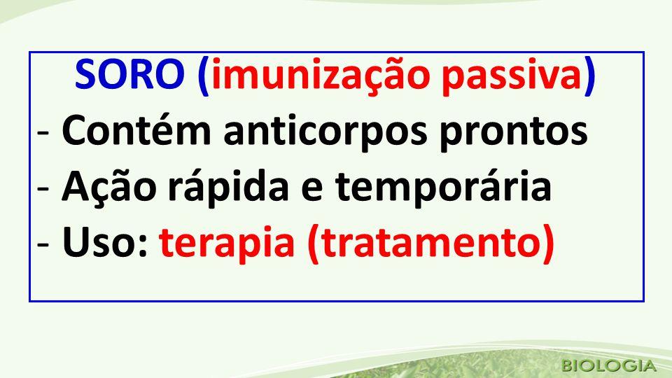SORO (imunização passiva)